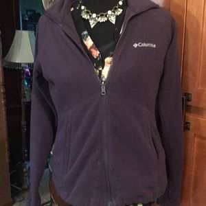 Ladies Columbia jacket in eggplant